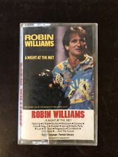 Robin Willliams A Night At The Met Cassette Tape Vintage Comedy