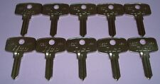 10 New Uncut Snap-On Tool Box Key Blank Ilco 1527 Set of 10 Keys