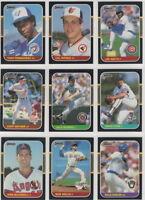 1987 Donruss Baseball Team Sets **Pick Your Team**