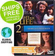 Fight For Life / Moll Flanders (DVD, 2012) NEW, Morgan Freeman, Patty Duke