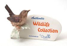 Vintage Goebel Germany Wildlife Collection Dealers Plaque 1970s