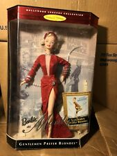 Marilyn Monroe Barbie, Red Dress, Gentlemen Prefer Blondes Doll, Brand New