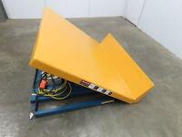 "Vestil Hydraulic Lift Tilt Table 4000lb  48"" x 48""Top, Tilts 45° Box Tipper 3PH"