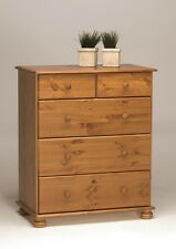 Steens Richmond Solid Pine 3+2 DEEP DRAWER Chest of Drawers