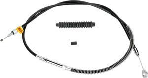 Barnett Black Vinyl Clutch Cable +3In Harley Fxdwg Fxdb Fxdbi Fxdwgi 0652-0445