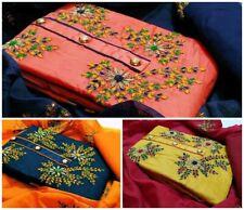 Kameez Pakistani Suit Salwar Indian Shalwar Casual Dress Designer Chiffon Cotton