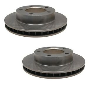 Raybestos Pair Set of Front Disc Brake Rotors 6048R For Ford Bronco F-150 F-100