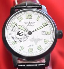 Russian Pilot Aviator MIG-29 watch