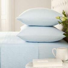 Helena Springfield 100% Brushed Cotton Blue Pillowcases