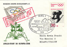 Germany 1972 Apollo Landing Olympic Year cover (2)