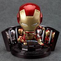 Nendoroid Iron Man Figure Mark 42: Hero's Edition Armor Marvel Avengers RARE