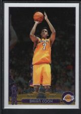BRIAN COOK 2003/04 TOPPS CHROME #134 RC ROOKIE CARD LAKERS SP MINT