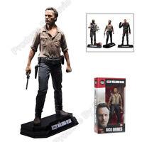 The Walking Dead Rick Grimes AMC TV Series PVC Figure Figurine 15cm with box