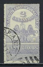 Mexico #348a Used, F-Vf - Priced At 1/2 Catalog!
