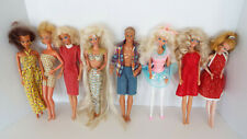 Vintage Barbie Ken Friends Fashion Dolls Clothes Sold As Found Estate Lot W