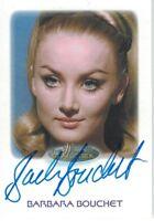 Women of Star Trek 50th Anniversary : Barbara Bouchet autograph