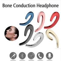 Bluetooth Earphones Wireless Headset Ear Hooks Earbuds With Mic Bone Conduction