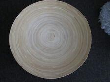 Ikea HULTET Bambus Schale Bambusschale Holz Holzschale Obstschale Deko natur 30