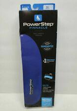 New Powerstep Pinnacle Full Length Orthotic Insole Blue Men's 11-11.5 H NIB