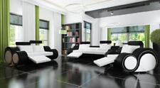 Sofa Polster  3+2 Sitz Designer Sofa Ledersofa SOFORT LIEFERBAR Couch Garnitur !
