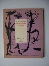 """Marcel & Gabriel PIQUERAY """" Les poudres lourdes  """" E.O. NUM. Coll. Age d'Or 1946"""