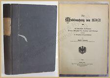 Lehmann Die Mobilmachung von 1870/71 1905 Geschichte Gesellschaft Politik xy