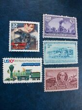 Trains & Railroad Stamps