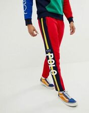 Polo Ralph Lauren Hi Tech Double-Knit Pant RED and Yellow Pants