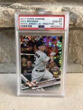 2017 TOPPS ALEX BREGMAN X-FRACTOR RC PSA 10 compare to other eBay prices