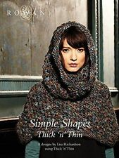 Rowan Simple Shapes in Thick & Thin Knitting Pattern Book
