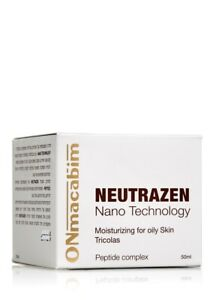 Onmacabim Neutrazen Tricolas moisturizing for oily skin cream 50 ml + samples