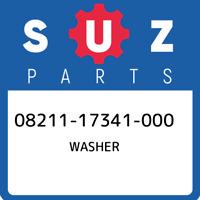 08211-17341-000 Suzuki Washer 0821117341000, New Genuine OEM Part
