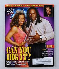 Booker T Sharmell January 2006 WWE Smackdown Wrestling Magazine RAW Hardy Poster