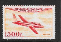France 1954 500fr Air Fouga CM-170 Magister vf mint hinged SG 1196 c.v. £325