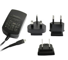GENUINE BLACKBERRY MAINS INTERNATIONAL TRAVEL MICRO USB CHARGER