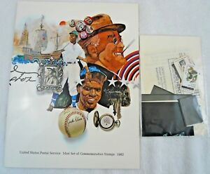Sealed 1982 Mint Set Commemorative USPS Souvenir Yearbook Album with Stamps