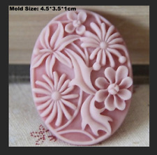 Mini Rose Flower Floral Silicone Soap Mold Craft Mould DIY Handmade Cake