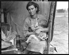 Masters of Photography: Migrant Mother #4, 1936 by Dorothea Lange: Digital Photo