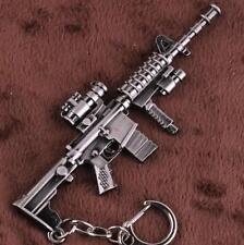M16A3 LMG rifle Weapon Mini Gun Model Metal Keyring Keychain Key Ring Chain *