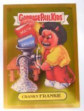 2004 Topps Garbage Pail Kids Series 2 Gold Foil Card #F3a-Cranky Frankie