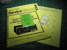 Realistic DX-300 Capacitor Kit w/Service Manual - Deluxe (7)Transistors