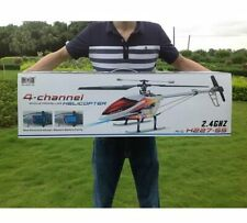 V913 2.4G 4ch Single Propeller 70cm RC Helicopter Built-In Gyro r/c Helikopter