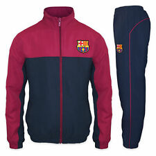 FC Barcelona Official Football Gift Boys Jacket & Pants Tracksuit Set