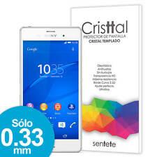 Sentete® Sony Xperia Z3 Protector de Pantalla de Cristal Templado PREMIUM