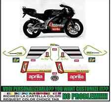 kit adesivi stickers compatibili  rs 125  chester biaggi 1996