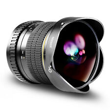 Neewer Pro 8mm f/3.5 Aspherical HD Fisheye Lens for Canon EOS Rebel Cameras
