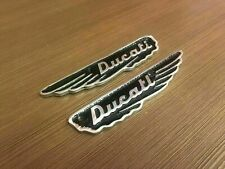 New Brand Ducati Scrambler 350CC Petrol Tank Badges Alloy Made