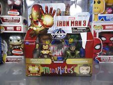 Marvel Minimates Toys R Us Ex. Iron Man 3 Mark 42 (Yellow) / Mandarin