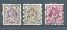 Transjordan 1930-46 sg.205, 206, 238 used