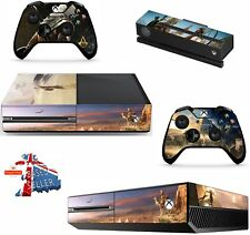 ASSASSINS CREED ORIGINS XBOX ONE *TEXTURED VINYL ! * PROTECTIVE SKIN DECAL WRAP